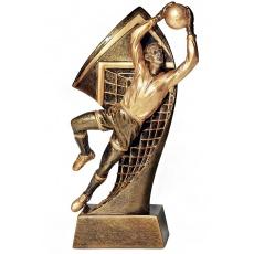 Odlievaná figurka futbal brankár