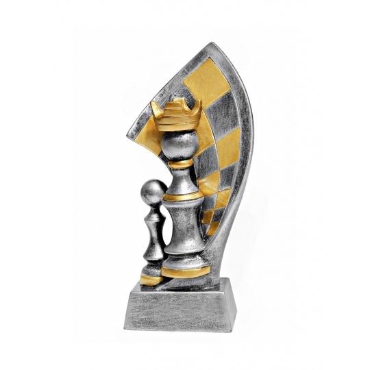 Odlievaná figurka šachy
