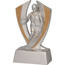Odlievaná figurka basketbal
