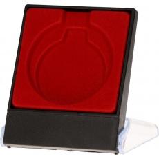 Púzdro na medaili 5 cm červené