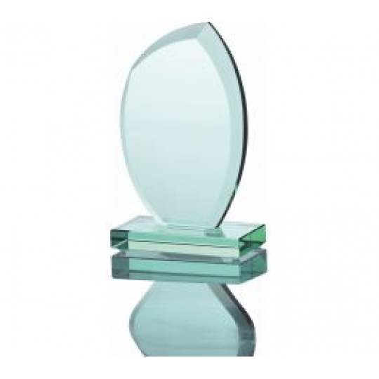 Sklenená trofej G010 s púzdrom