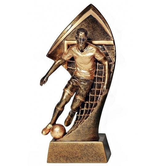 Odlievaná figurka futbal