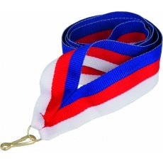 Stuha modro-červeno-biela11 mm (CZK)
