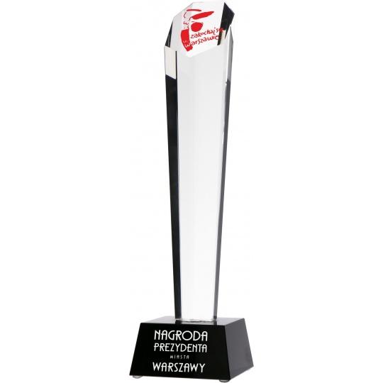 Sklenená trofej G003 s púzdrom